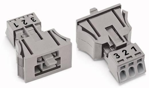 Netz-Steckverbinder Serie (Netzsteckverbinder) WINSTA MINI Stecker, gerade Gesamtpolzahl: 3 16 A Weiß WAGO 50 St.