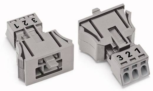Netz-Steckverbinder Serie (Netzsteckverbinder) WINSTA MINI Stecker, gerade Gesamtpolzahl: 3 16 A Grau WAGO 890-753/006-