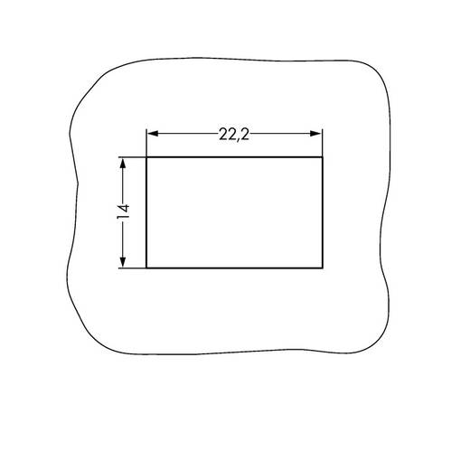Netz-Steckverbinder Serie (Netzsteckverbinder) WINSTA MINI Buchse, gerade Gesamtpolzahl: 3 16 A Grau WAGO 890-743 50 St
