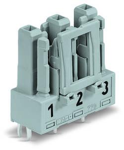 Connecteur d'alimentation Embase femelle verticale WAGO 770-863 25 A Nbr total de pôles: 3 vert clair Série WINSTA MIDI