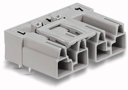 Netz-Steckverbinder Serie (Netzsteckverbinder) WINSTA MIDI Stecker, Einbau horizontal Gesamtpolzahl: 4 25 A Grau WAGO 50 St.