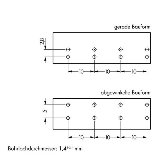 Netz-Steckverbinder WINSTA MIDI Serie (Netzsteckverbinder) WINSTA MIDI Buchse, Einbau horizontal Gesamtpolzahl: 4 25 A H