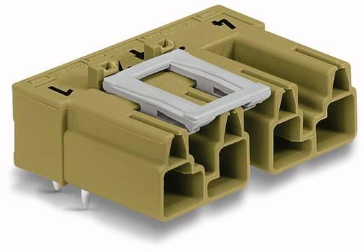 Netz-Steckverbinder Serie (Netzsteckverbinder) WINSTA MIDI Stecker, Einbau horizontal Gesamtpolzahl: 4 25 A Hellgrün WAGO 50 St.