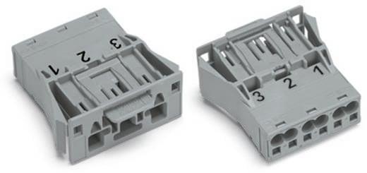 Netz-Steckverbinder WINSTA MIDI Serie (Netzsteckverbinder) WINSTA MIDI Stecker, gerade Gesamtpolzahl: 3 25 A Grau WAGO