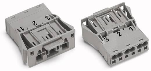 Netz-Steckverbinder Serie (Netzsteckverbinder) WINSTA MIDI Stecker, gerade Gesamtpolzahl: 3 25 A Grau WAGO 770-753 100