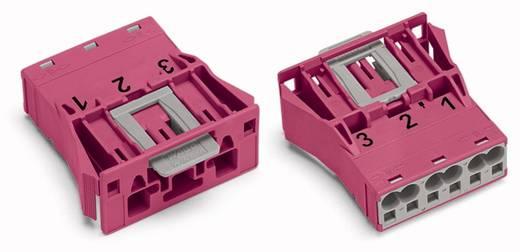 Netz-Steckverbinder Serie (Netzsteckverbinder) WINSTA MIDI Stecker, gerade Gesamtpolzahl: 3 25 A Pink WAGO 100 St.