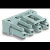 Connecteur d'alimentation Embase femelle horizontale WAGO 770-804/011-000 25 A Nbr total de pôles: 4 noir Série WINSTA