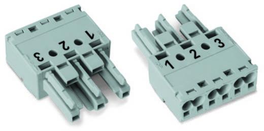 Netz-Steckverbinder Serie (Netzsteckverbinder) WINSTA MIDI Buchse, gerade Gesamtpolzahl: 3 25 A Braun WAGO 100 St.