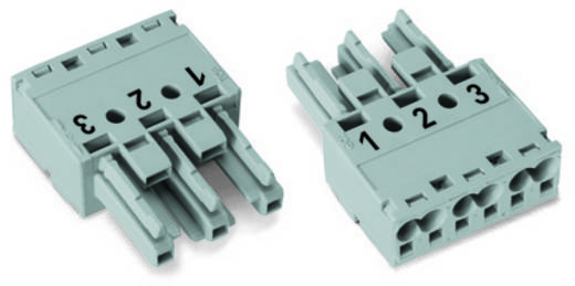Netz-Steckverbinder Serie (Netzsteckverbinder) WINSTA MIDI Buchse, gerade Gesamtpolzahl: 3 25 A Schwarz WAGO 770-203 10