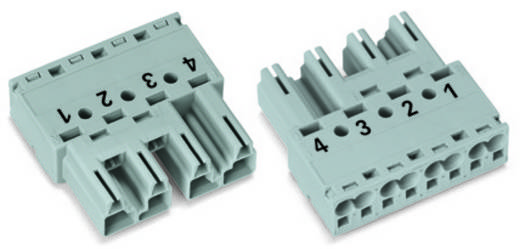 Netz-Steckverbinder Serie (Netzsteckverbinder) WINSTA MIDI Stecker, gerade Gesamtpolzahl: 4 25 A Weiß WAGO 50 St.