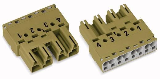 Netz-Steckverbinder Serie (Netzsteckverbinder) WINSTA MIDI Stecker, gerade Gesamtpolzahl: 4 25 A Hellgrün WAGO 770-274/