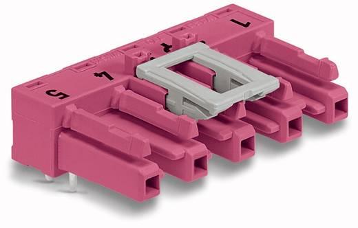 Netz-Steckverbinder Serie (Netzsteckverbinder) WINSTA MIDI Buchse, Einbau horizontal Gesamtpolzahl: 5 25 A Pink WAGO 5