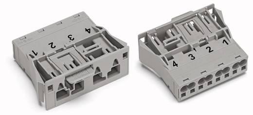 Netz-Steckverbinder Serie (Netzsteckverbinder) WINSTA MIDI Stecker, gerade Gesamtpolzahl: 4 25 A Grau WAGO 770-754 100