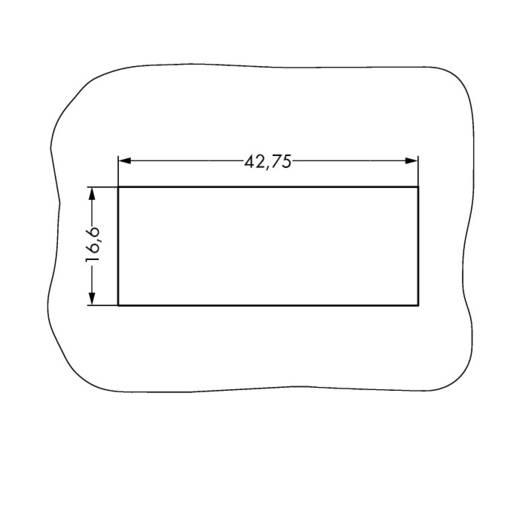 Netz-Steckverbinder Serie (Netzsteckverbinder) WINSTA MIDI Buchse, gerade Gesamtpolzahl: 4 25 A Weiß WAGO 100 St.