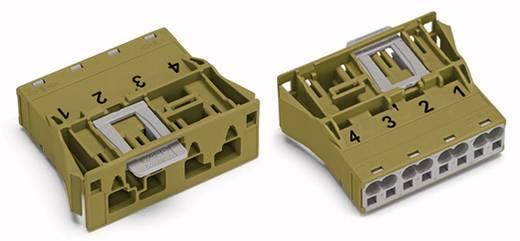 Netz-Steckverbinder Serie (Netzsteckverbinder) WINSTA MIDI Stecker, gerade Gesamtpolzahl: 4 25 A Hellgrün WAGO 770-774/