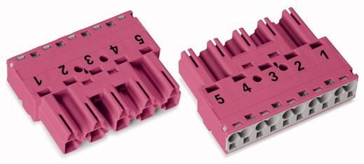 Netz-Steckverbinder Serie (Netzsteckverbinder) WINSTA MIDI Stecker, gerade Gesamtpolzahl: 5 25 A Pink WAGO 50 St.