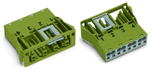 Netz-Steckverbinder Serie (Netzsteckverbinder) WINSTA MIDI Buchse, gerade Gesamtpolzahl: 4 25 A Grau WAGO 100 St.