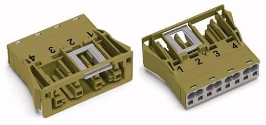 Netz-Steckverbinder Serie (Netzsteckverbinder) WINSTA MIDI Buchse, gerade Gesamtpolzahl: 4 25 A Hellgrün WAGO 100 St.