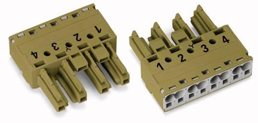 Netz-Steckverbinder Serie (Netzsteckverbinder) WINSTA MIDI Buchse, gerade Gesamtpolzahl: 4 25 A Hellgrün WAGO 50 St.