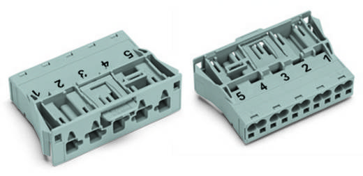 Netz-Steckverbinder Serie (Netzsteckverbinder) WINSTA MIDI Stecker, gerade Gesamtpolzahl: 5 25 A Blau WAGO 100 St.