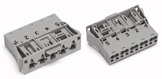 Netz-Steckverbinder Serie (Netzsteckverbinder) WINSTA MIDI Stecker, gerade Gesamtpolzahl: 5 25 A Grau WAGO 770-755/064-