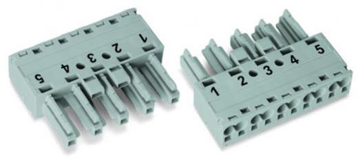 Netz-Steckverbinder WINSTA MIDI Serie (Netzsteckverbinder) WINSTA MIDI Buchse, gerade Gesamtpolzahl: 5 25 A Grau WAGO 5