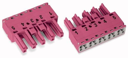 Netz-Steckverbinder Serie (Netzsteckverbinder) WINSTA MIDI Buchse, gerade Gesamtpolzahl: 5 25 A Pink WAGO 50 St.
