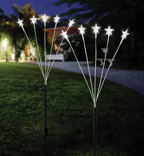 Boden-Dekoration Sterne Kalt-Weiß LED 11-C097