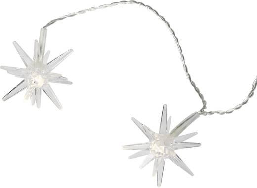 Motiv-Lichterkette Sterne Außen netzbetrieben 12 LED Warm-Weiß Beleuchtete Länge: 2.2 m 07-C008