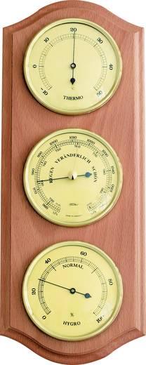 Analoge Wetterstation Fischer Wetter Station météo intérieure, bois de hêtre, modèle classique 53415 Vorhersage für=12 b