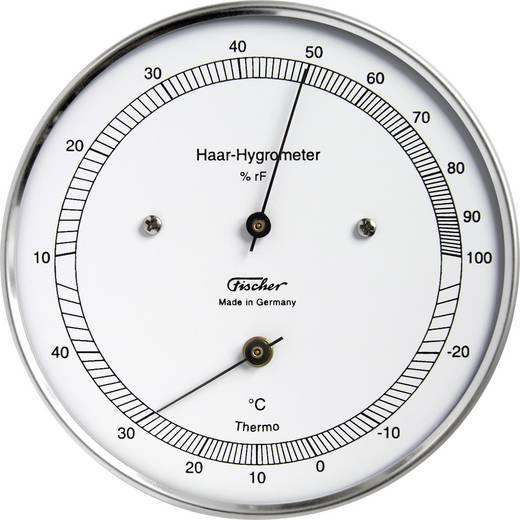 Wand Thermo-/Hygrometer 528203 Weiß