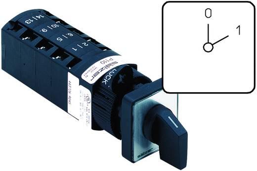 Nockenschalter 10 A 1 x 60 ° Grau, Schwarz Sälzer P110-61001-219M1 1 St.