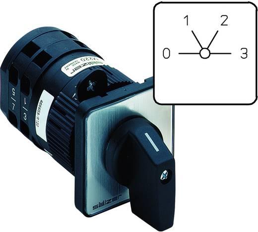 Nockenschalter 20 A 3 x 60 ° Grau, Schwarz Sälzer M220-61060-219M1 1 St.