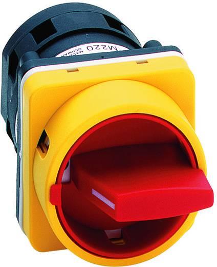 Nockenschalter 20 A 1 x 90 ° Gelb, Rot Sälzer M220-61199-033M4 1 St.