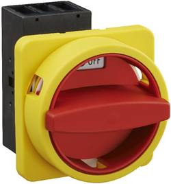 Interrupteur sectionneur Sälzer H233-41300-033N4 40 A 1 x 90 ° jaune, rouge 1 pc(s)