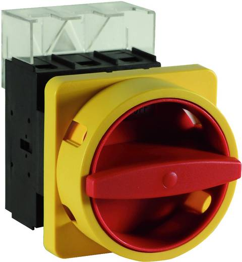 Lasttrennschalter 100 A 1 x 90 ° Gelb, Rot Sälzer H410-41300-033N4 1 St.