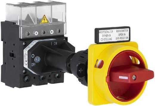 Lasttrennschalter 80 A 1 x 90 ° Gelb, Rot Sälzer H408-41300-281M4 1 St.