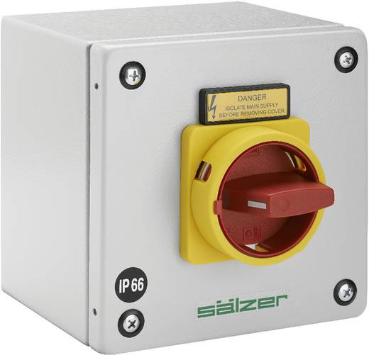 Lasttrennschalter 63 A 1 x 90 ° Gelb, Rot Sälzer B263-41300-087M4 1 St.