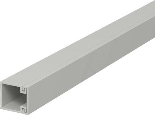 Kabelkanal (L x B x H) 2000 x 15 x 15 mm OBO Bettermann 6189393 1 St. Grau