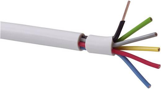 Klingelschlauchleitung YR-DR 6 x 0.50 mm² Weiß Conrad Components SH1998C235 20 m