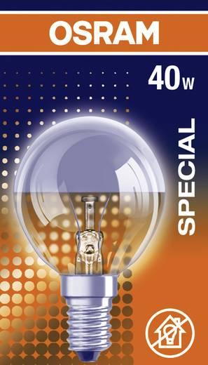 Glühlampe 80 mm OSRAM 230 V E14 40 W Warm-Weiß EEK: E Tropfenform dimmbar Inhalt 1 St.