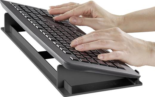 Tastaturablage KEHI Tastaturständer Schwarz