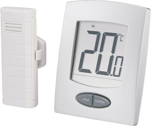 WS-9008-IT Thermometer Silber