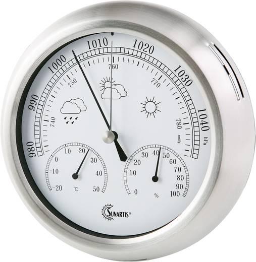 Analoge Wetterstation Sunartis THB 367 SS 2-1060 Vorhersage für=12 bis 24 Stunden
