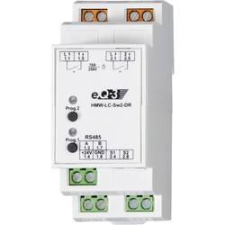 Spínač RS485 na DIN lištu Homematic HMW-LC-Sw2-DR 76801 2kanálový