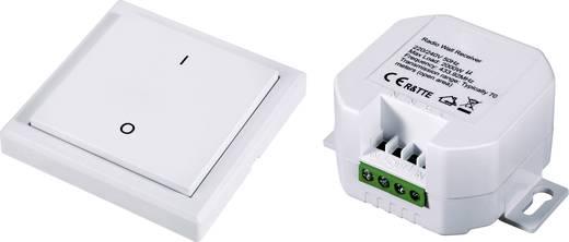 RSL Funk-Schalter-Set Aufputz, Einbau 2teilig Schaltleistung (max.) 2000 W Reichweite max. (im Freifeld) 70 m