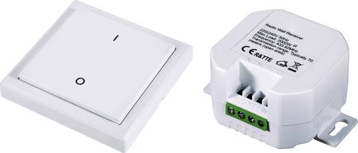 RSL Funk-Steckdosen-Set Aufputz, Einbau 2teilig Schaltleistung (max.) 2000 W Reichweite max. (im Freifeld) 70 m