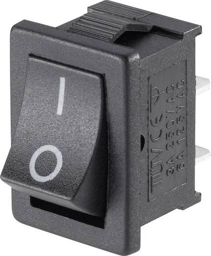 Wippschalter Mini-wipschakelaar MRS-101-C3 1x AAN 1 St.