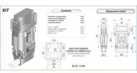 Kfz Flachsicherungs-Halter Flachsicherung Maxi Maxi SH8 1 St.