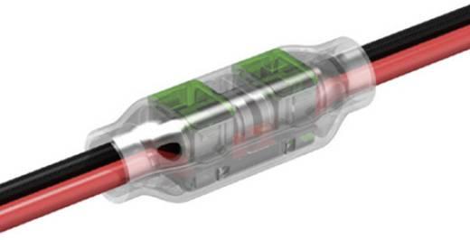 Schnellklemmverbinder flexibel: 0.33-0.5 mm² starr: 0.33-0.5 mm² Polzahl: 2 TE Connectivity 293545-3 1 St. Gelb, Grün